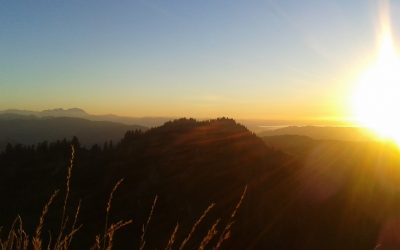 Montag: Wanderung in den Sonnenuntergang