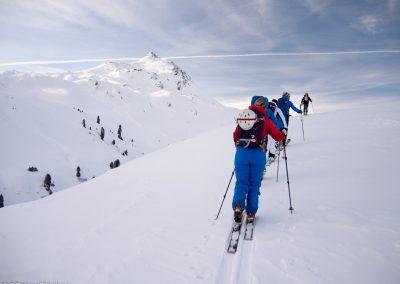Skitouren Einsteigerkurs Allgäu powered by VÖLKL