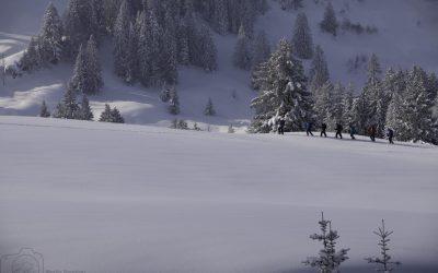 Schneeschutour mit Hüttenübernachtung im Imberggebiet