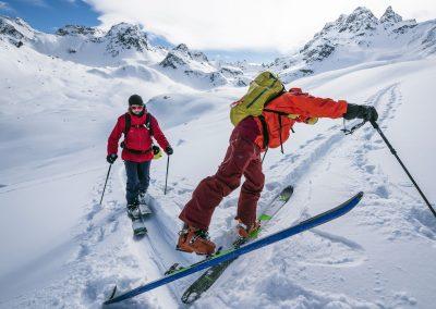 Skitouren für Genießer in Graubünden