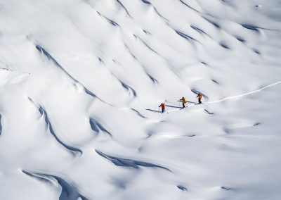 Traumskitouren in Fjordland Norwegens