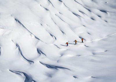 Traumskitouren im Fjordland Norwegens in Valldal