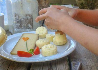 Buttern Auf Der Alpe