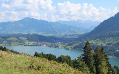 Dienstag: Wandertrilogie – Pfade oberhalb des großen Alpsee