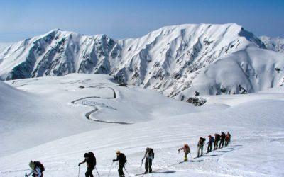 Skitouren in Japan mit Besteigung des Mt. Fuji