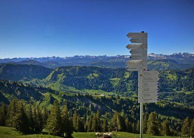 Freitag: 3 Gipfel Tour Nagelfluhkette