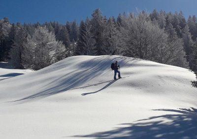 Skitouren Bregenzer Wald Lecknertal März 2019